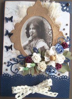 made by Annelie...: Ett födelsedagskort