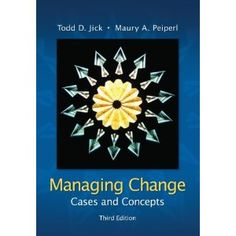 Given the environment which many find themselves, this book offered some salient perspectives and cases on change management. Some of it was a little confusing, but within the context of discussion and application, it was extremely helpful.