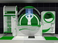 Futuristic Washrooms: The Hi-Tech Global Bathroom is an All-In-One Restroom