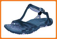 3b37db70fdac Merrell Sandspur Spark Womens Leather Walking Sandals-Black-8 ( Partner  Link)