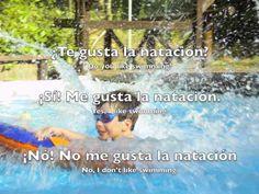 vocabulary video of still photos ... Spanish Listening: Sports - Likes & dislikes