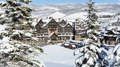 Ritz-Carlton, Bachelor Gulch__Not in this building, but in this town. It is truly spectacular.