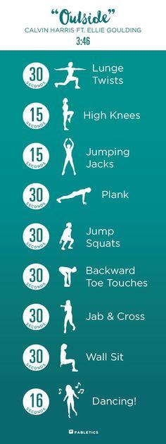 calvin harris workout More