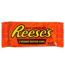 Reeses peanut butter cups - yummy!