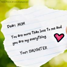 Mom Daughter Love Profile Pictures Photography I Miss You Mom
