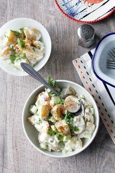 Amerikkalainen perunasalaatti / American Potato Salad Food & Style Tiina Garvey, Fanni & Kaneli Photo Tiina Garvey www.maku.fi