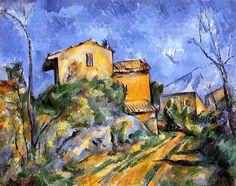 The Maison Maria Paul Cezanne - circa 1895