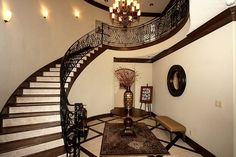 beautiful staircase!  in Houston TX