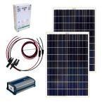 http://www.homedepot.com/p/Grape-Solar-200-Watt-Off-Grid-Solar-Panel-Kit-GS-200-KIT/203505912