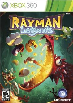 Amazon.com: Rayman Legends: Xbox 360: Video Games