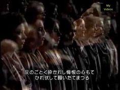 Karajan_Mozart Requiem D minor K 626_best version!!_min. 21:32_confutatis_uuaaahh!