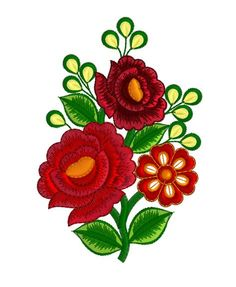 Free Machine Embroidery Design - Flowers
