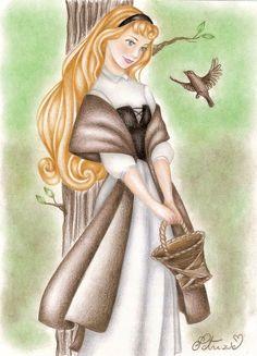 Princess Aurora as Briar Rose in Sleeping Beauty