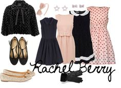 """""""Rachel Berry Night outfit"""" by luciataietta ❤ liked on Polyvore"""