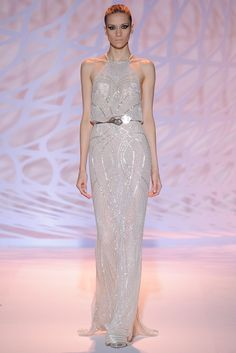 This looks like something Jennifer Lawrence would wear - Zuhair Murad Fall 2014 Couture  collection | Via: Style.com #nattygal