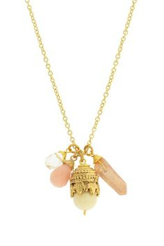 Moroccan Cluster Necklace by LEILA on @HauteLook