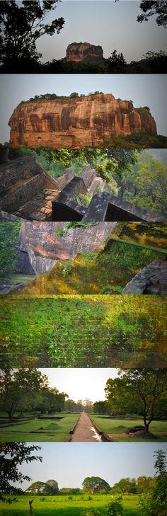 Ascending the Sigiriya Rock, Sigiriya, Sri Lanka #SriLanka #Sigiriya #Lionsrock
