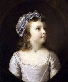 Reynolds, Sir Joshua : Portrait of a Girl
