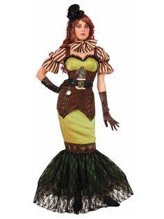 Edle Steampunk Lady Damenkostüm Gothic braun-bunt , günstige Faschings  Kostüme bei Karneval Megastore, der größte Karneval und Faschings Kostüm- und Partyartikel Online Shop Europas!