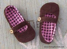 Girls Classic Mary Jane Sewing Pattern