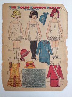 US $20.00 Used in Dolls & Bears, Paper Dolls, Vintage
