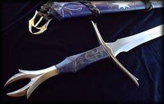 Aduial - Elvish Sword by Brendan Olszowy Fable Blades Custom Sword Maker