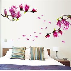 Beautiful Mangnolia Flowers DIY Wall Stickers Removable Art Decals Vinyl Wallpaper Mural Home Decoration Pegatinas De Pared. Category: Home & Garden. Subcategory: Home Decor. Product ID: Removable Wall Stickers, Wall Decor Stickers, Vinyl Wall Decals, Vinyl Art, Diy Wand, Rooms Home Decor, Diy Home Decor, Home Decoration, Stickers