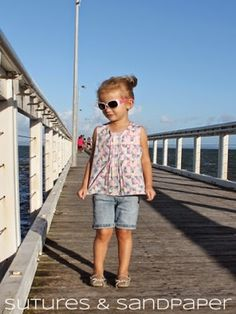 Eloise Top - Free Pattern and Tutorial