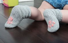 Classic Knits for Kids, adorable kitty paw socks!