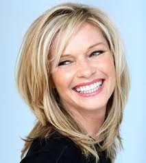 short haircuts for thick hair round face - Google Search