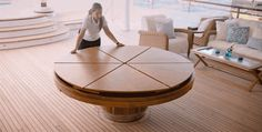 I want this!!!  The Fletcher Capstan Table