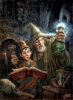 Magia   Pintura Digital