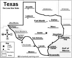87 Best Coloring Texas Coloring Book Images Colouring In Coloring
