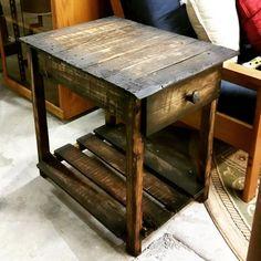 Pallet Wood End Table — Got Wood? Workshop