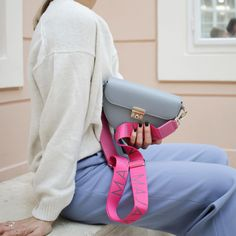 Find your favorite color combination of bag and strap. Favorite Color, Your Favorite, Color Combinations, Crossbody Bag, Bags, Fashion, Monogram, Totes, Colour Combinations