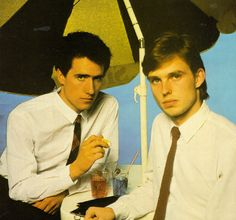 Orchestral Manoeuvres in the Dark - Andy McCluskey and Paul Humphreys