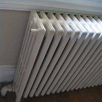 How to clean cast iron radiators