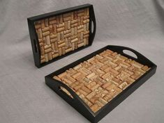 Wine Cork Serving Tray by camiescorks on Etsy Beer Crafts, Wine Cork Crafts, Wine Cork Art, Wine Corks, Wine Bottles, Wine Cork Coasters, Wine Cork Projects, Wine Craft, Home Crafts