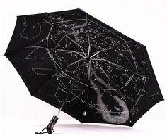 Aliexpress.com: Comprar Cielo estrellado paraguas totalmente automático paraguas constelación paraguas popularidad Extreme tres paraguas plegable de envío gratuito de paraguas de la muñeca fiable proveedores en Solid Globe Trade