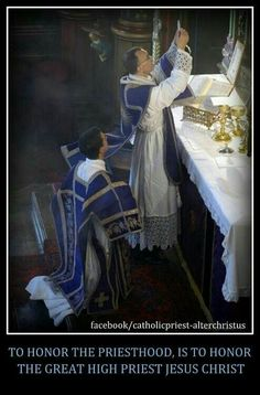 TO HONOR THE PRIESTHOOD IS TO HONOR THE GREAT HIGH PRIEST, JESUS CHRIST!