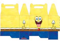 EUGENIA - KATIA ARTES - BLOG DE LETRAS PERSONALIZADAS E ALGUMAS COISINHAS: Caixinhas BOB ESPONJA Barbie, Ideas Para Fiestas, Spongebob, Party, Spongebob Birthday Party, Party Kit, Pine Apple, Adhesive, 1 Year