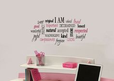 """wall photos collaged with words 