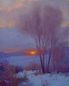 Artist Marc Hanson....plein air painter