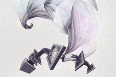Artworks by Niklas Lundberg. More on http://lookslikegooddesign.com/new-artworks-niklas-lundberg/