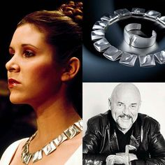 #jewels&cinema @Regrann from @practicalgemologist - Did you know that the necklace and bracelet worn by Princess Leia in the 1977 Star Wars film was designed by Finnish company Lapponia? And for the hardcore fans you can still purchase the pieces. Read about designer Bjorn Weckstrom and George Lucas on my website thepracticalgemologist.com (link in bio) ___________ #starwars #carriefisher #princessleia #anewhope #georgelucas #bjornweckstrom #lapponia #designer #luxury #jewelry #fashion…