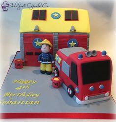 Fireman Sam cake.....