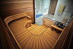 Saunagalleria I SUN SAUNA Oy I Ideoita saunaremonttiin, saunaideat Saunas, Spa, Stairs, Home Decor, Full Bath, Bathing, Stairway, Decoration Home, Room Decor