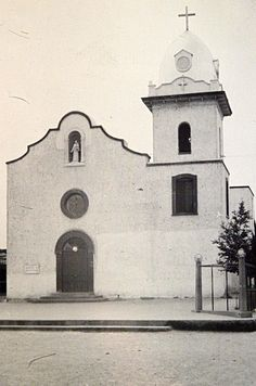 old el paso texas missions | 1944 photo of Ysleta Mission in Texas, founded 1682 | Flickr - Photo ...
