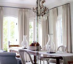 Dining room.  Maggie O'Neill did the beautiful light blue venetian plaster walls