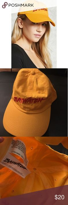 Forever 21 Baywatch Cap Like New! No damage! Purchased from forever 21! Great for a day at the beach, airport, running errands or just because. Has adjustable straps as well Forever 21 Accessories Hats